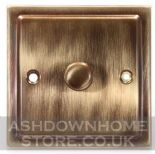 Trimline Plate Antique Bronze Dimmer Switches